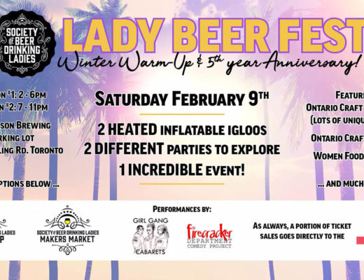 Lady Beer Fest Winter Warm Up & 5th Anniversary Party!
