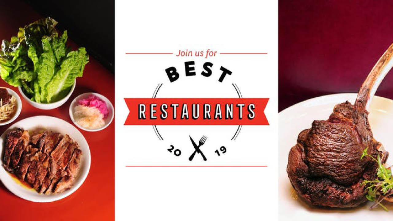 Toronto Life Best Restaurants 2019